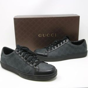 GUCCI Men's Gucci Tessuto Supreme Sneakers Size 7